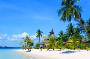 Unentdeckte Inseln der Andamannesee