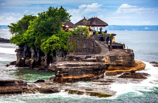 Balinesische Kultur und Strandurlaub
