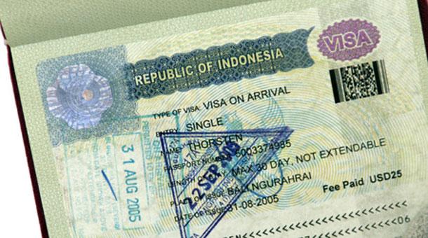 Bali Visum für die Einreise nach Indonesien