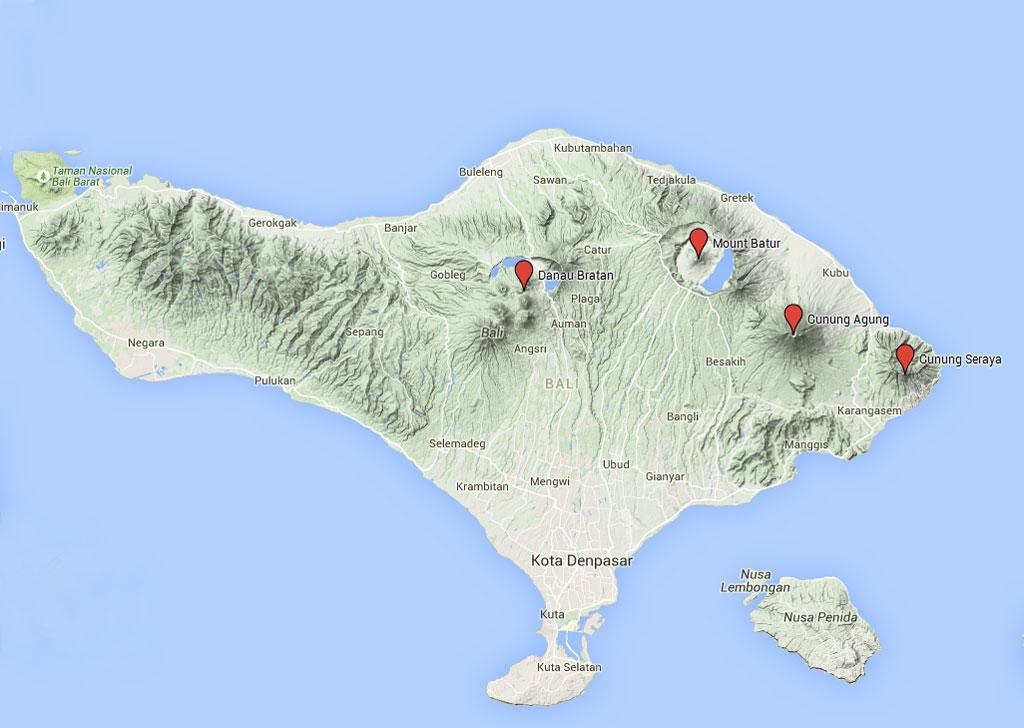 Bali Vulkane