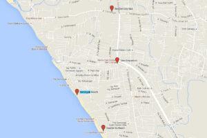 Karte von Seminyak