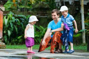 Kleiderordnung: Die richtige Kleidung ist ein Sarong