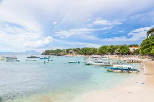 Die Mushroom Bay auf Nusa Lembongan