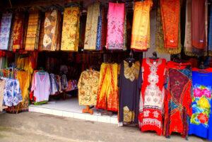 Der Pasar Badung Markt in Denpasar