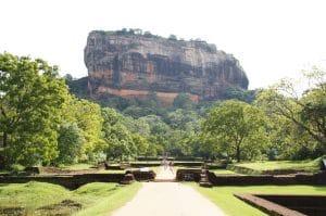 Berg Sigria auf der Sri Lanka Reise besteigen