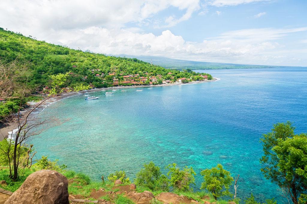 Amed in Bali: Die Blaue Lagune im Osten von Bali
