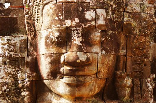 Angkor Bayon Tempel