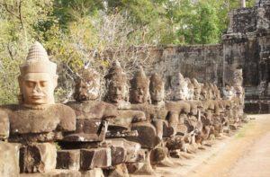 Eingang Angkor Thom zur Tempelstadt
