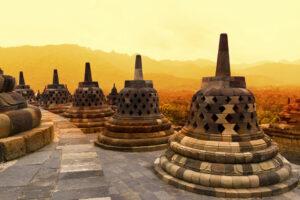 Java Borobudur Indonesien