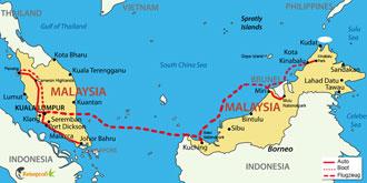 Malaysia Intensive mit Borneo