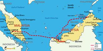 Große Borneo Rundreise mit Badeurlaub