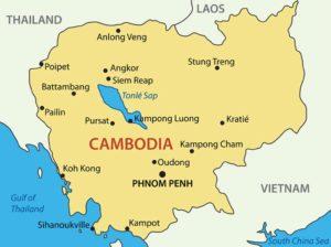 Kambodscha Sehenswürdigkeiten Karte