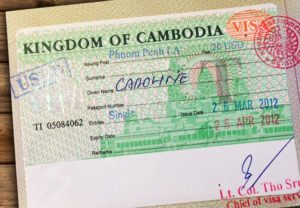 Kambodscha Visum