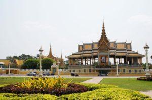Der Königspalast in Phnom Penh