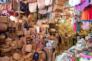 Der Kunstmarkt Pasar Seni in Ubud