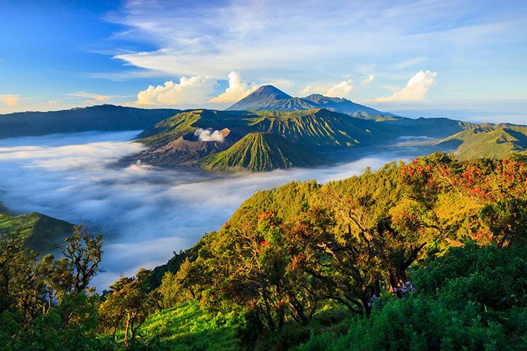 Der Mount Batur Vulkan als Top Sehenswürdigkeit in Bali