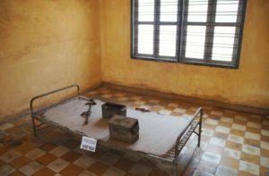 Gefängniszelle des Office 21 in Phnom Penh