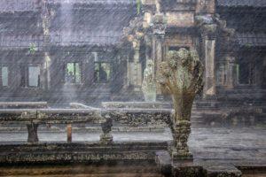Zur Reisezeit: Regenzeit im Angkor Wat