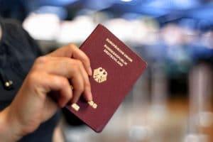 Reisepass für das Indonesien Visum