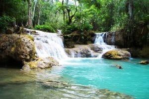 tat-kuang-si-wasserfall-laos Laos Urlaub Vietnam Thailand