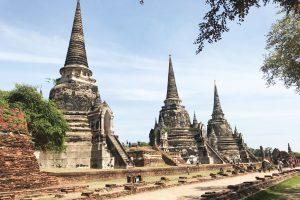 Wunderschöne Tempelbauten in Ayuthaya und Sukhothai