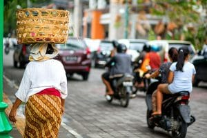 Richtiges Verhalten im Verkehr in Indonesien