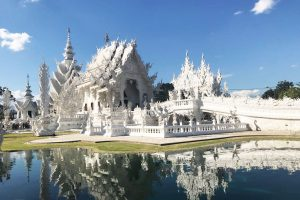 Besuch des White Temple in Chiang Rai